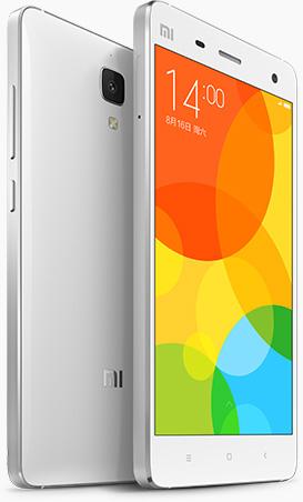 小米手机4 亮白