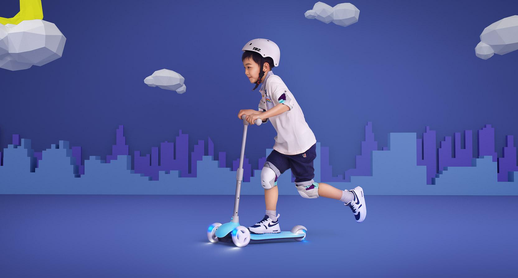米兔儿童滑板车 小米商城