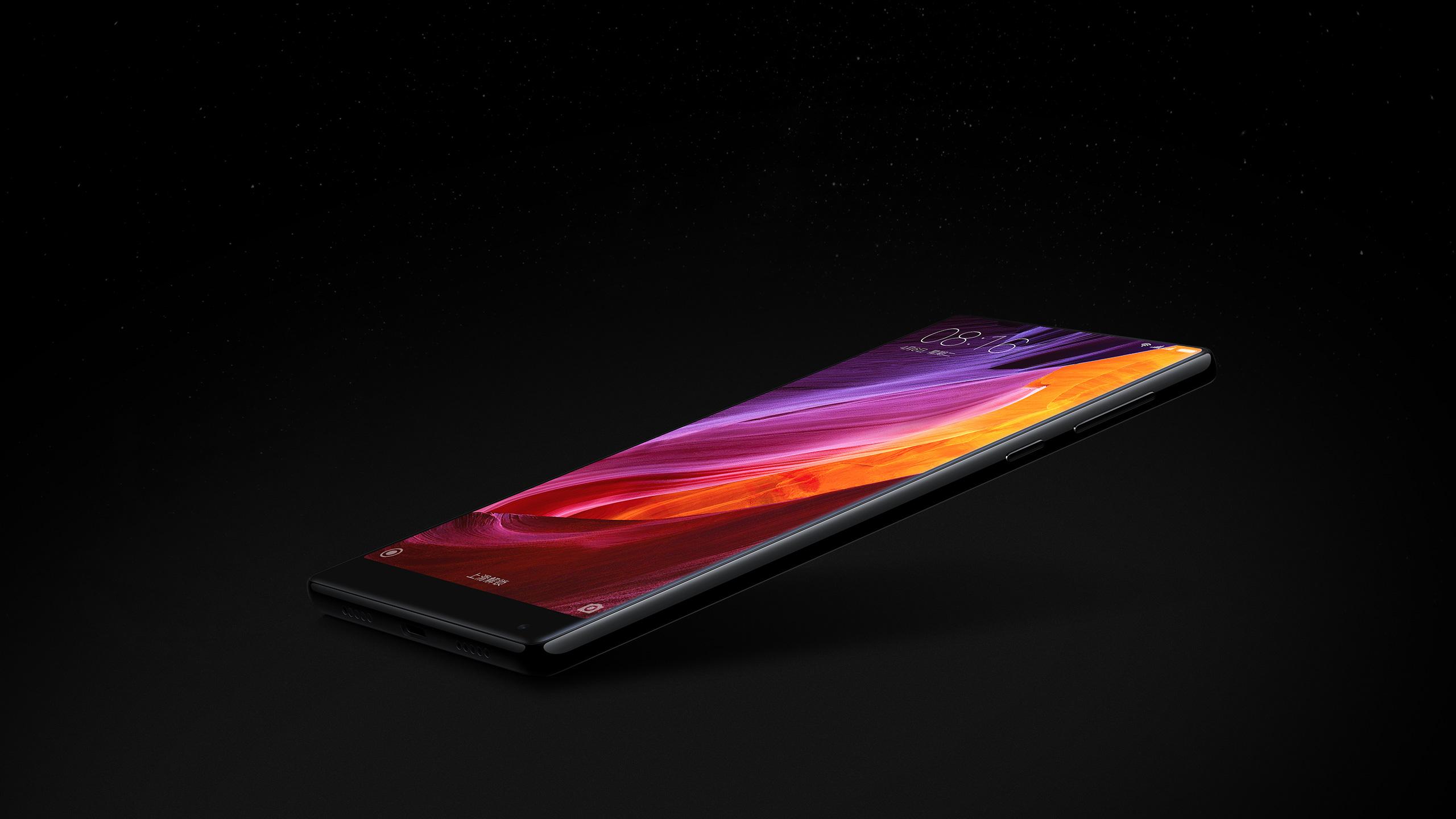 小米MIX全面屏概念手机